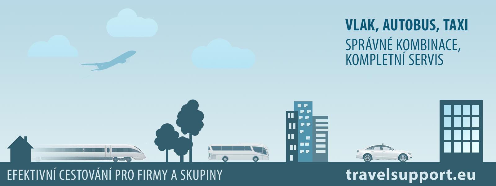 TravelSupport - Efektivní cestování pro firmy a skupiny